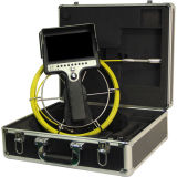 Waterproof Pipe Inspection Camera with Meter Counter 512Hz Built-in Locator