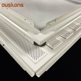 White Decorative Aluminium Wall Ceiling Panel Suspended Metal Ceiling for Hall