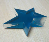 Star Shaped Blue Layer Acrylic Paperweight 001