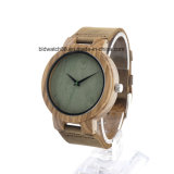 Best Sale Leather Band Wood Watch for Man Woman