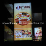 Tension Fabric Frame with Open LED Sign for Restaurant Equipment
