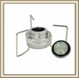 Portable Mini Spirit Burner Alcohol Furnace Stove with Stand