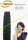High Quality Motorcycle Tyre/Tire (300-18 300-17)