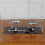 Clear Acrylic Display Box with Lock for Model Plane (BTR-Y5011)