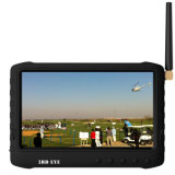5′′ LCD Monitor with Sun Visor for Fpv Hobby (1.2GHz/2.4GHz/5.8g freq. No blue screen)