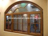 Aluminium Clading Tilt&Turn Timber Window (TS-314)