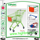 European Style Handle Shopping Trolley