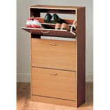 Wood Panel Shoe Rack with Very Good Price
