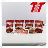 Sachet Tomato Paste with FDA, HACCP, Halal, FDA, SGS Certification