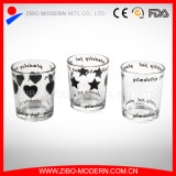 High Quality Wholesale Candle Holders Glass Clear