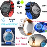 Round Screen IP68 Waterproof Smart Watch One-Year Standby F3