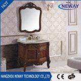 New Design Antique Solid Wood Home Furniture Bathroom Cabinet