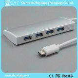 Harmonica Design Type C 4 Port USB 3.0 Hub (ZYF4001)