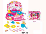 Educational Home Set for Girl Plastic Toy B/O Kitchen Set (786435)