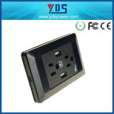 15A Switched Socket with 2 Port Us USB Wall Socket