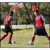 Durable High Strength Flexible FRP Soccer Training Pole