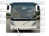 Chang an Bus Sc6881 Front Wall, Bus Spare Parts, Auto Parts, Bus Spare Parts.