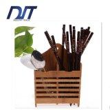 Factory Direct Custom Logo Natural Bamboo Hanging Wall Chopsticks Box