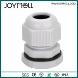 Electric IP68 Waterproof Grey Black M8 Plastic Cable Gland
