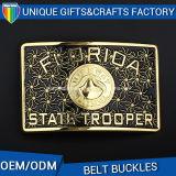 Factory Supply Wholesalers Florida Fashion Metal Enamel Belt Buckle