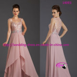 Pretty Shimmering Pick Mother of Bride Dress for Party
