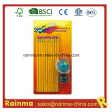 Hb Pencil with Erath Sharpener Stationery Set