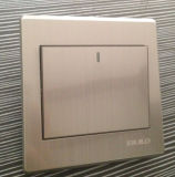 1 Gang 1 Way Stainless Steel Wall Switch