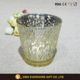 Antique Bell Glass Candle Holder