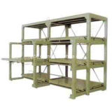 Warehouse Storage Heavy Duty Steel Mold Rack / Drawer Type Rack