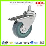 100mm Swivel Locking Instrumental Caster Wheel (L110-32C125X27S)
