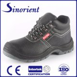 Best Selling Leather Safety Shoes Boots with Steel Toe Cap