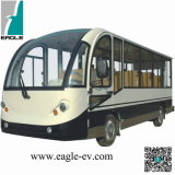 Electric Shuttle Bus, Electric Minibus, CE Approved New Condition Cheap 14 Seats