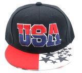 Fashion 6 Panel Short Brim Snapback Hat