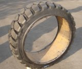18X6X12 1/8 Press- on Solid Forklift Tire and Non-Marking Solid Tire Pneu Plein