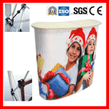 Easy Set up Indoor/Outdoor Display Promotion Unit
