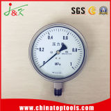 Customied Stainless Steel Pressure Gauge with Avaliable Filled