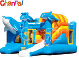 Dolphin Inflatable Bouncer Combo Kids Inflatable Air Jumper Combo (Bb016)