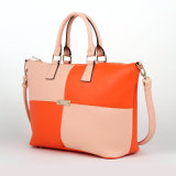 Color Combinations Lady PU Handbag (D13068)