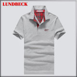 Fashion Design Poloshirt for Men in Solid Color Good Quality