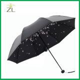 Promotional Cheap Mini Windproof Three Folding Umbrella