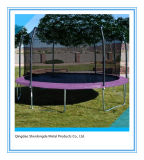 Outdoor 16FT Trampoline with Outer Net for Family Fun