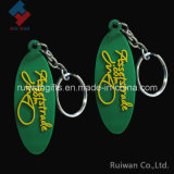 Rubber Key Holder with Embossed Logo