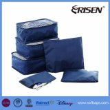 6PCS Travel Organizers Packing Cubes Luggage Storage Bags Compression Pouches