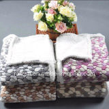 OEM Snug China Factory Raschel Blanket, Double Ply Blanket