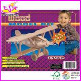 Wooden 3D Intelligent Puzzle - Biplane (WJ276594)