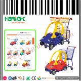 Supermarket Plastic Children Shopping Trolley Cart for Kids