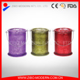 Factory Price Wholesale Frosted Glass Votive Candle Holders