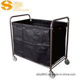 Iron Spray Coating Hotel Cleaning Service Cart (SITTY 99.3213BC1)