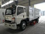 Factory Diesel Type 4X2 Road Sweeping Truck