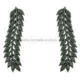 High Quality Feather Style Colorful Party Earrings (KE3115)